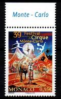 MONACO 2015 : N° 2953 - FESTIVAL DU CIRQUE - NEUF **   En Bord De Feuille - - Ungebraucht