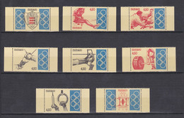 TIMBRES MONACO SERIE COMITE OLYMPIQUE INTERNATIONAL  N° 1896 A 1903 **   PM - Unused Stamps
