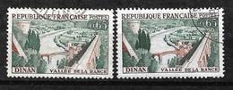 France   Dallay N° 1340 Et 1340c  Pont Bleu  Oblitérés  B/TB    à Moins De 10 % Les Moins Chers Du Site  ! ! ! - Variétés: 1960-69 Oblitérés