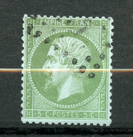 France, Yvert 35*, Napoléon III 5c Vert Pâle S. Bleu, - 1870 Besetzung Von Paris