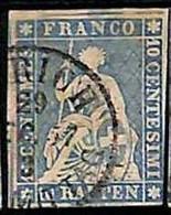 94992dI  -   SWITZERLAND - STAMP - Zumstein # 23 Cc -  Fine  USED - Gebraucht