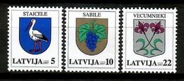 Latvia 2007 Letonia / Definitives Coat Of Arms MNH Escudos / Ke04  18-35 - Sellos