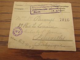 1914-18 : 2 Lettres (dont Une Jamais Ouverte!) De Prisonniers De Guerre Des Camps De MUNSTER (WESFALEN) Et HAMELN (HANNO - Krijgsgevangenen
