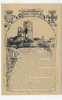 (RECTO / VERSO) COLLECTION HISTORIQUE DES CHATEAUX DE FRANCE - N° 124 - CHAMPTOCE - CPA NON VOYAGEE - Altri Comuni