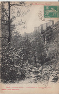 SAISSAC (11) - Le Ruisseau Et Le Vieux Château - Bon état - Altri Comuni