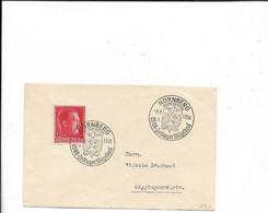 Sammlerbrief Nürnberg 1938 - Cartas
