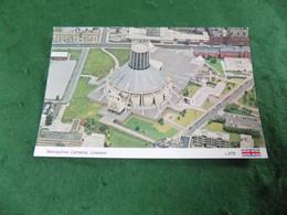 VINTAGE MERSEYSIDE: Liverpool Metropolitan Cathedral Aerial Colour Dennis - Liverpool