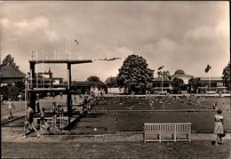 ! DDR Ansichtskarte Waltershausen, Schwimmbad, 1965 - Waltershausen
