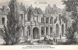 Vieux PARIS -Ancienne Orangerie Du Luxembourg Démolie En 1862 Pour Le Percement De La Rue De Médicis - Sonstige Sehenswürdigkeiten
