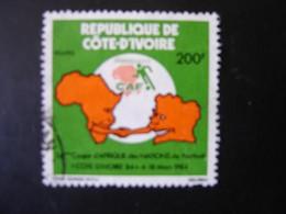 COTE D'IVOIRE    N° 679  OBLITERE - Ivory Coast (1960-...)