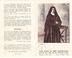 Reliquia Suor Maria Di Gesu' Santocanale - Devotion Images