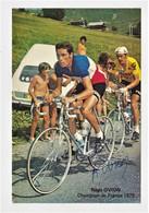 CYCLISME, CYCLISTE, CP SIGNEE, REGIS OVION - Ciclismo