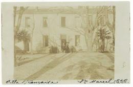 SAINT MARCEL (Banlieue De Marseille) Carte Photo - Villa Française (4856 ASO) - Andere Gemeenten