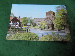 VINTAGE MERSEYSIDE: Wirral Thornton Hough St George's Church Colour 1977 DVP - Liverpool
