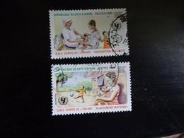 COTE D' IVOIRE  N° 729-732   OBLITERE - Ivory Coast (1960-...)