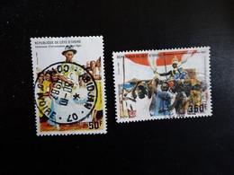 COTE D' IVOIRE  N° 768-769   OBLITERE - Ivory Coast (1960-...)