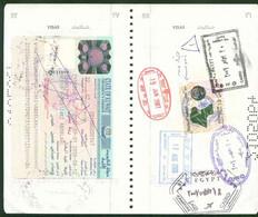 Kuwait Revenue Stamp 2006 On Passport Page 10D - Koeweit