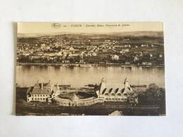 NAMUR  KURSAAL , MEUSE , PANORAMA DE JAMBES    MARCOVICI N° 42 - Namur