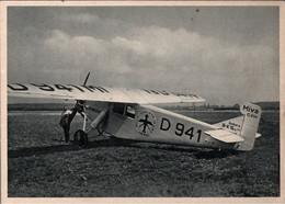 ! Werbekarte, Werbung, Reklame Junkers Flugzeuge Dessau, K 16, D-941, Miva Köln - 1919-1938: Interbellum