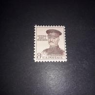 "A6MIX9 USA STATI UNITI D'AMERICA 1961 GENERAL JOHN J. PERSHING ""XX"" - Unused Stamps"