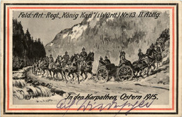 In Den Karpathen Ostern 1915 - Feldpost - Oorlog 1914-18