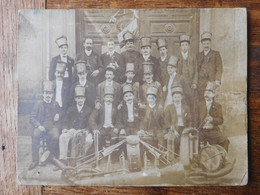 Photo Groupe Musiciens Vers 1900 - Anonyme Personen