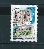 N° 5334 Abbatiale Saint Philbert De Grand Lieu Timbre De France Oblitéré 2019 - Used Stamps