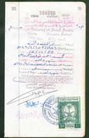 Saudi Arabia Revenue Stamp On Passport Page 50R - Arabia Saudita