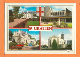 Saint Gratien (95210) Le Château De Catinat - La Statue De François Truffaud - L'hôtel De Ville - L'église - Saint Gratien