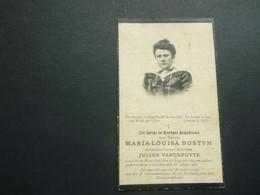 Doodsprentje ( 3783 )   Bostyn / Vandeputte  -  Moorslede  1905 - Avvisi Di Necrologio