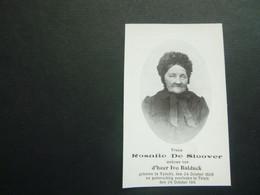 Doodsprentje ( 3789 )  De Sloover / Balduck  -  Vinkt  Tielt - Avvisi Di Necrologio