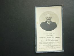 Doodsprentje ( 3805 )  Burgemeester Devreese / Goormachtigh  -  Oostkamp  Zevekote  1920 - Avvisi Di Necrologio