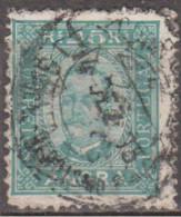 ANGRA (Açores)-1892-1893,  D. Carlos I. Tipos De Portugal C/ Legenda «ANGRA»   25 R.   D. 11 1/2  (o)  Afinsa Nº 5 - Angra