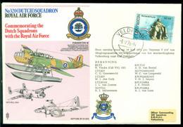 Nederland 1976 RAF Ter Herinnering Aan De Nederlandse Squadrons Bij De RAF - Briefe U. Dokumente
