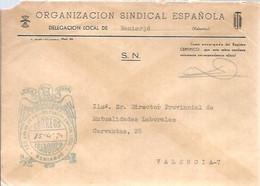 CARTA 1970 BENIARJO - Franquicia Postal