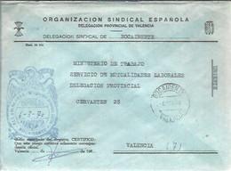 CARTA 1970 BOCA IRENTE - Franquicia Postal