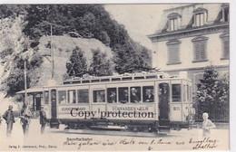 Sernftalbahn Schwanden-Elm - Grossaufnahme - Animiert - 1905        (01110) - Trenes