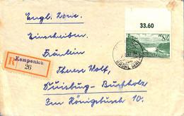 Allemagne Zone Française  1947  Lettre De  Kempenich (G0095) - Franse Zone