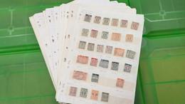 Lot N° TH 690 ALLEMAGNE Collection Sur Page D'albums , Obl - Collezioni (in Album)