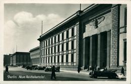 Berlin Allemagne Deutschland Neue Reichskanzlei Chancellerie Superbe Echte Photo Voiture Véhicule 1943 Junga Aigle Croix - Autres