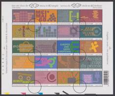 BL 99 - XX - Een Reis Door De 20ste Eeuw- Le Tour Du 20ième Siècle - Perszegels - Ohne Zuordnung