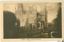 Leer 1926; Schloss Evenburg - Gelaufen. (Heinrich Künne - Bremen) - Leer