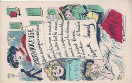Illustrateur Mouton G, Brevet De Noceuse - Andere Zeichner