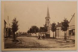 51 - BEZANNES - La Place - L'église - Boulangerie - Cpa Marne - Altri Comuni