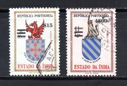 1959 - YT 519 ET 524 OBLITERES - Portugiesisch-Indien