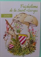 Petit Calendrier De Poche Humoristique  2010 Champignon Humanisé Tricholome De La Saint Georges - Klein Formaat: 2001-...
