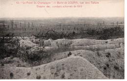 SOUAIN PERTHES LES HURLUS - LA BUTTE DE SOUAIN - VUE VERS TAHURE  - LE FRONT DE CHAMPAGNE - Souain-Perthes-lès-Hurlus