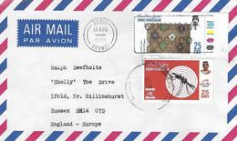 Brunei 1991 Seria Malaria Musquito Insect Textile Cover - Sonstige