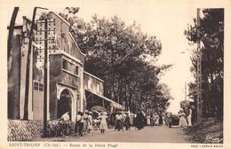 CPA 17  SAINT TROJAN ROUTE DE LA PETITE PLAGE - Ile D'Oléron