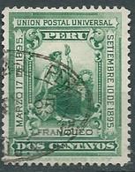 Pérou      Yvert N°   95 Oblitéré    - Lr 32324 - Perú